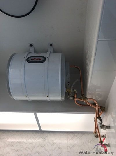 Our Team Of Plumbers Helped Install A Joven Storage Water Heater