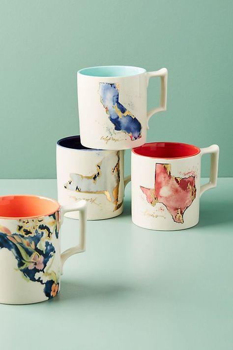 Conic Mug Ceramic Spring Garden Personalised Bone China Family Couple Gift Decor