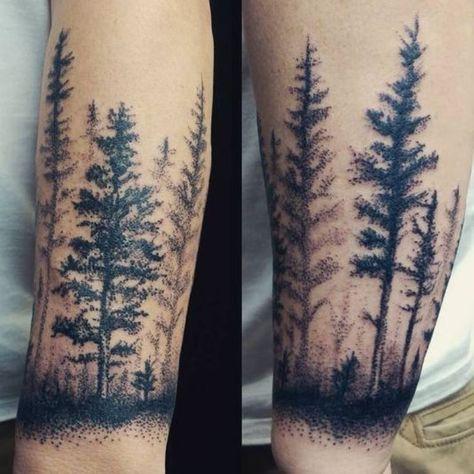 Fir Tree Tattoo