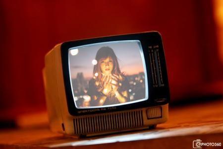 Online Photo Effects Online Text Effect Frame Effect In 2020 Vintage Television Framed Tv Old Tv