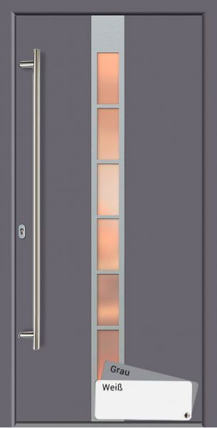 Bolia Aluminium Eingangstur Haustur 3 Fach Verglasung Hauseingangsturen Haus Nebeneingangstur