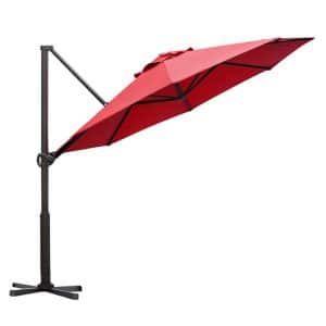 Top 10 Best Offset Patio Umbrellas For Garden Backyard Poolside In 2020 Reviews Offset Patio Umbrella Patio Umbrellas Patio
