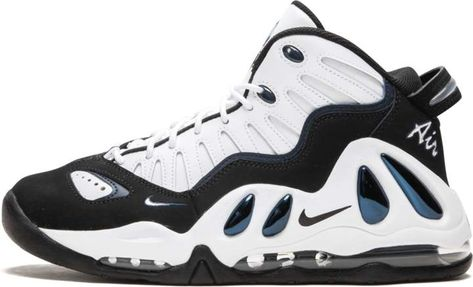 new style 23066 f547c Nike Uptempo 97  Georgetown  - White Black
