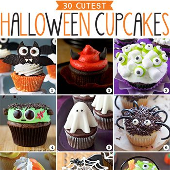 Denise Franco (dfranco5) on Pinterest - how to decorate cupcakes for halloween