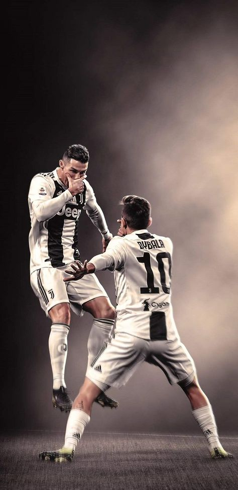 Cristiano Ronaldo and Paulo Dybala Juventus