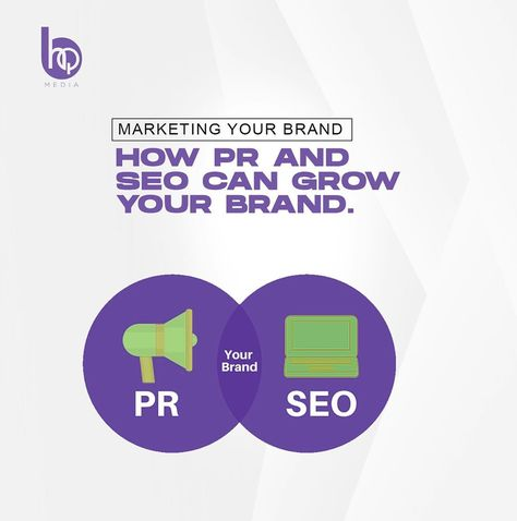 """BukiHQ Media's Instagram post: """"MARKETING YOUR BRAND: HOW PR AND SEO CAN GROW YOUR BRAND  The growth of a business is mostly dependent on three important factors;…"""""""