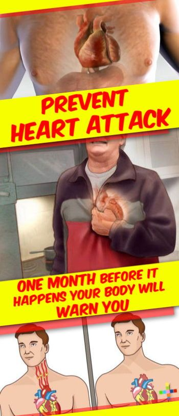 A Month Before a Heart Attack, Your Body Will Warn You With