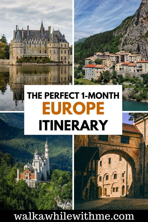 The Perfect 1-Month Europe Itinerary!