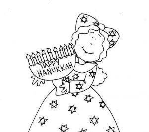 Printable Hanukkah Coloring Sheets Pages Freehanukkah