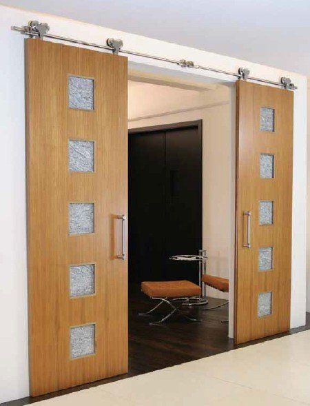 Wooden Sliding Door Sliding Barn Door System Full Set Hardware Garage Door Design Barn Doors Sliding Wood Doors Interior