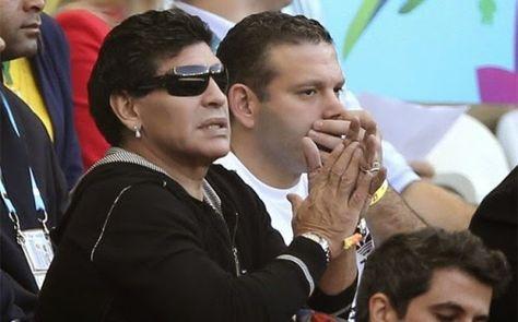 """Maradona: """"Velasco Carballo fue lo más desastroso que vi en los últimos diez años"""""""