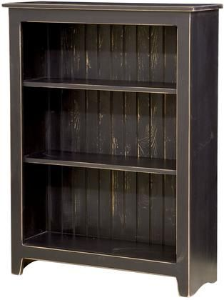 Constance 465113bl 36 Bookcase With 3 Shelves Pine Wood Construction And Distressed Detailing In Bookcase Home Furniture Furniture