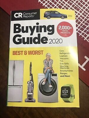 Consumer Reports 2020 Buying Guide 2000 Rated Products