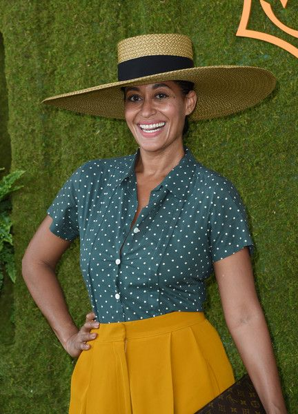 Tracee Ellis Ross attends the 8th annual Veuve Clicquot Polo Classic.
