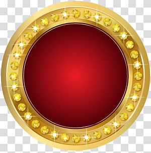 Gold Scalable Graphics Seal Gold Red Round Gold Colored And Red Gemstone Transparent Background Png Clipart Red Gemstones Transparent Background Clip Art