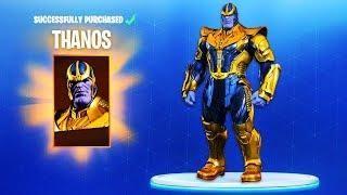 New Fortnite Thanos Skin Easter Egg Solved How To Get Thanos Fortnite Battle Royale Gameplay Fortnite Cool Gifs Wonder Woman
