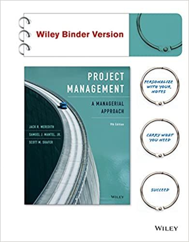 Project Management A Managerial Approach 9th Edition 9th Edition By Jack R Meredith Project Management Project Management Courses Business Management Degree