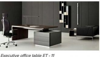 Executive Table Et 11 Contemporary Office Furniture Office