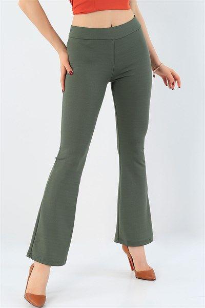 29094 Turkiye Nin En Hesapli Bayan Giyim Sitesi Modamizbir Com 2020 Pantolon Ispanyol Paca Giyim