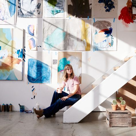 A Live-Work Space Like You've Never Seen Before - Inside An Artist's Streamlined Work-Live Loft - Photos