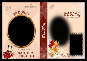 27 Wedding Dvd Cover Psd Templates Free Download Wedding Dvd Cover