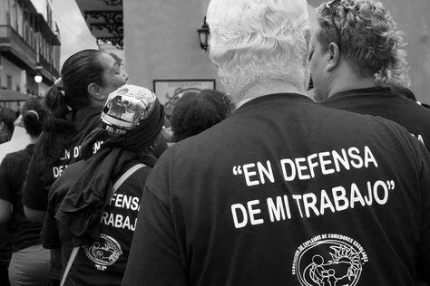 photo En Defensa de mi Trabajo Union...