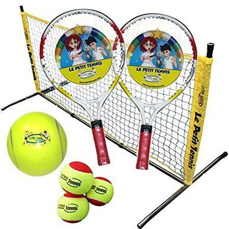 Le Petit Tennis Tennis In A Box 5 Pcs Mini Tennis Kit 17 Racquets 5 Foot Steel Net 4 Balls Tennis Nets Tennis Racquets