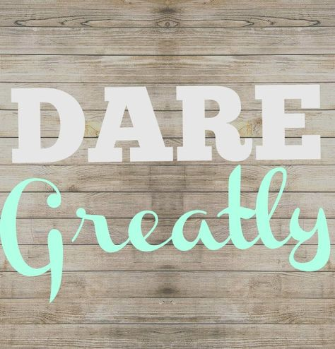 Dalley Family Motto and why I chose it. #Smittenby #daringgreatly #familymotto #palletsign