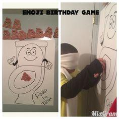 Emoji Birthday Party Ideas Theme Game
