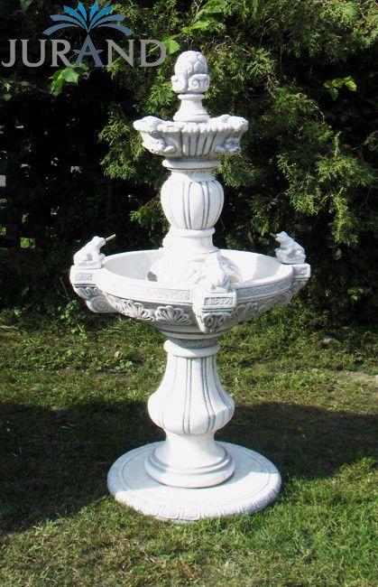 Springbrunnen Fontane Zierbrunnen Garten Deko Brunnen Frogia 150 Cm Steinguss Garden Fountain Fountain Garden Fountains