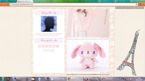 Cute Tumblr Themes Themes Custom Themes Pastel Cute Themes Custom Theme Theme