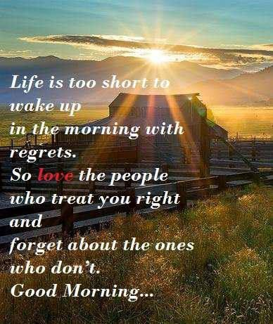 Morning Life Quotes Fascinating Life Good Morning People  A  Pinterest  Wednesday Greetings