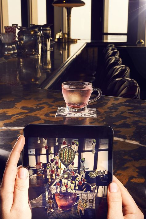 The world's first augmented reality menu is here