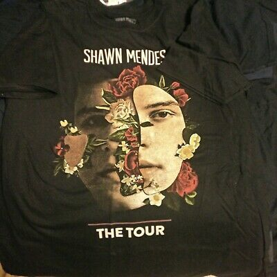 SHAWN MENDES THE TOUR 2019 Men/'s Tee Unisex Shirt