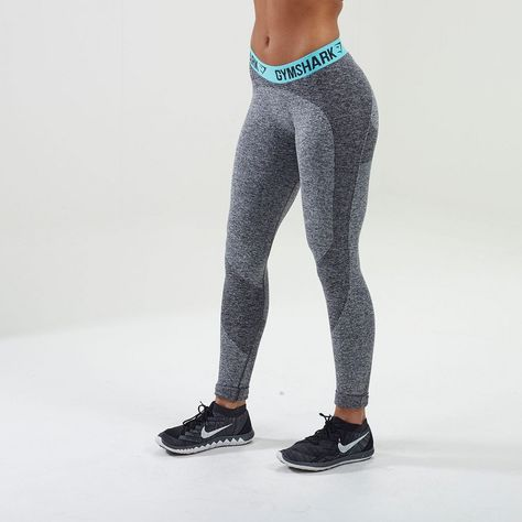 FLEX LEGGINGS V2 - SEA GREEN by Gym Shark (XS)