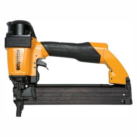 Bostitch 14 Gauge Sheathing And Siding Stapler 650s4 1 Stapler Home Depot Gauges