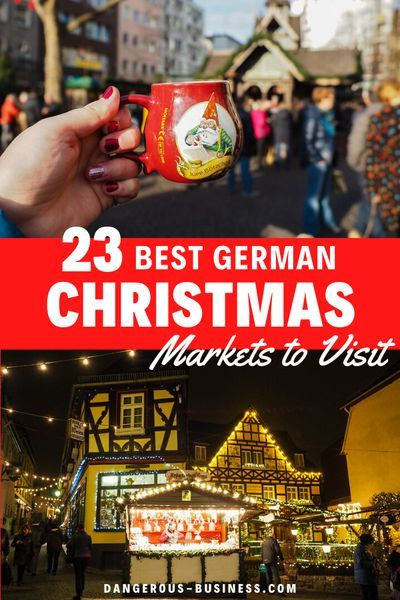 German Christmas Market Cruise 2020 23 of the Best Christmas Markets to Visit in Germany in 2020 in