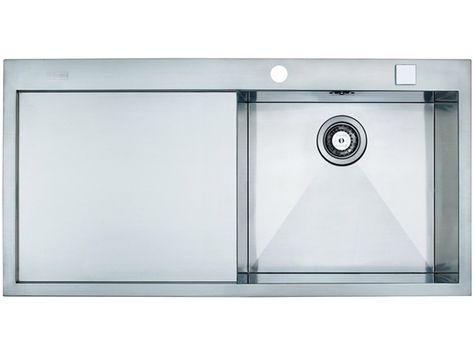 Küchenspülbecken blanco ~ Blanco flow xl s if spüle b t cm edelstahl haus