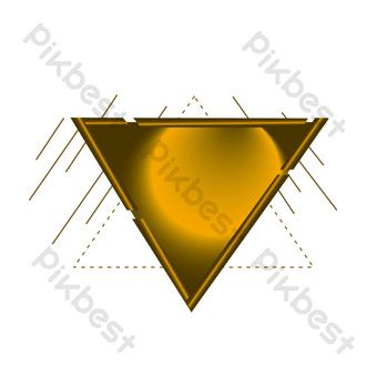 Triangle E Commerce Golden Background Png Images Ai Free Download Pikbest In 2020 Golden Background Png Images Ecommerce