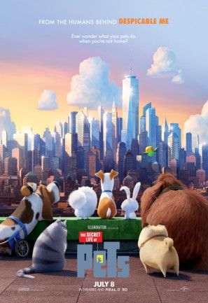 The Secret Life Of Pets Poster Id 1302041 Pets Movie Secret Life Of Pets Pet 2016 Movie