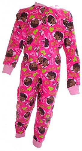 Doc McStuffins Pale Pink Girl's All in One Sleepsuit Age 18 Months 4 Years