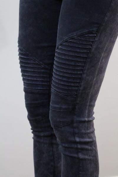 Damen Office Hose Jeggings Freizeit OL Büro Lange Zipper Taschen Leggings Hosen