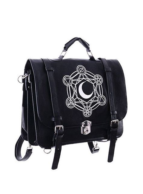 Nu Goth, Gothic Kunst, Messenger Bag Backpack, Rucksack Bag, Gypsy Bag, Black Satchel, Satchel Handbags, Satchel Bag, Steampunk