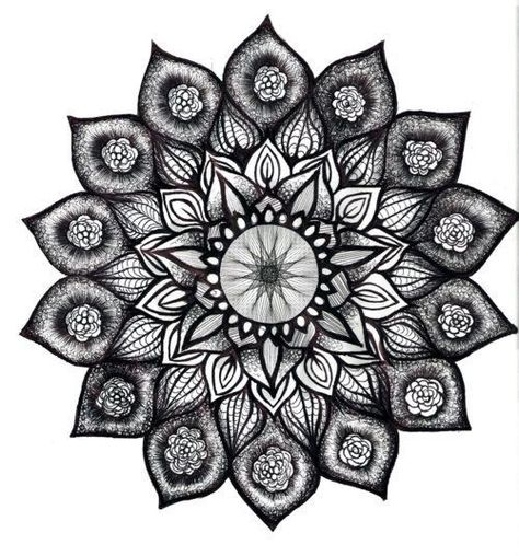 lotus mandala tattoo design