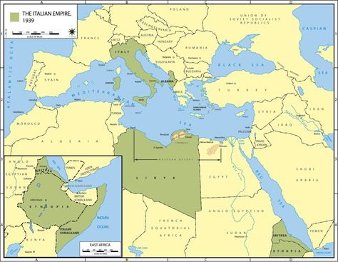 Image result for the italian empire in 1939