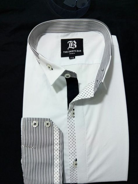 Men/'s Italian dress casual and luxury designer regular fit shirts formal