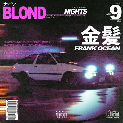 Frank Ocean - Blond (Vintage Japanese Covers) - - Post with 10498 views. Graphic Design Books, Graphic Design Pattern, Japanese Graphic Design, Graphic Design Illustration, Design Posters, Illustration Art, Poster Art, Typography Poster, Typography Layout
