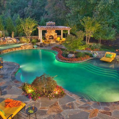 Lagoon Pool Design, Pictures, Remodel, Decor and Ideas ...