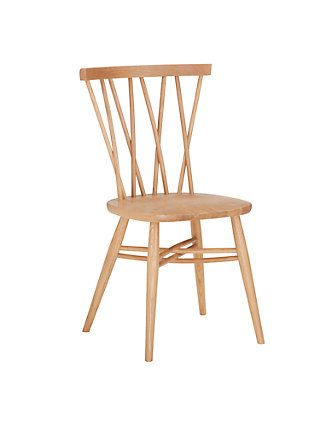 Ercol For John Lewis Shalstone Dining Chair Oak Dining Chairs