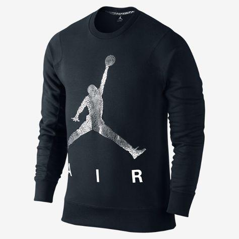 imágenes oficiales mejores marcas elige lo último Jordan Jumpman Air Fleece Crew Men's Sweatshirt | Mens sweatshirts ...